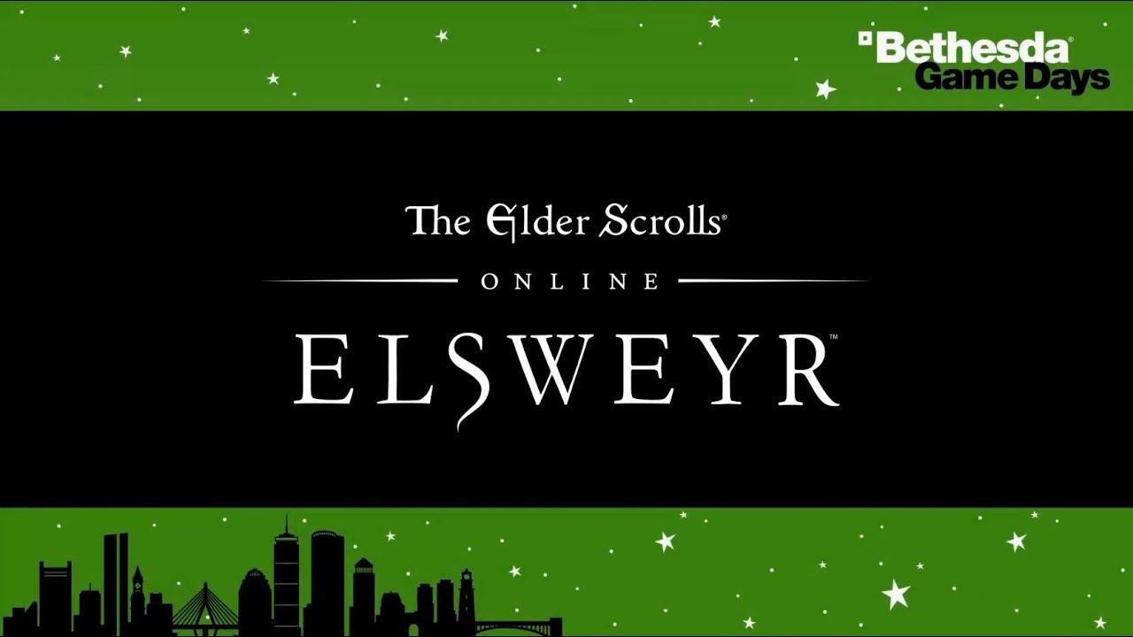 Bethesda Game Days - The Elder Scrolls Online - Q&A Panel