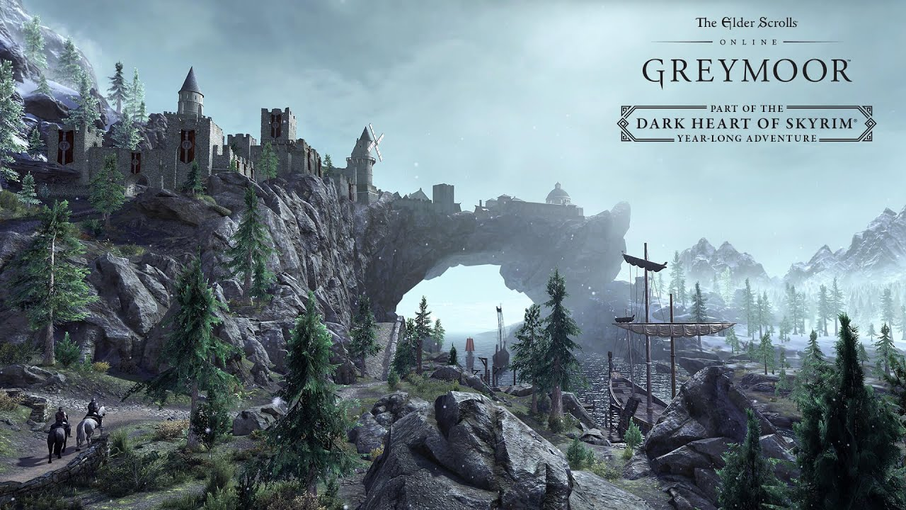 The Elder Scrolls Online: Greymoor - Descend into the Dark Heart of Skyrim