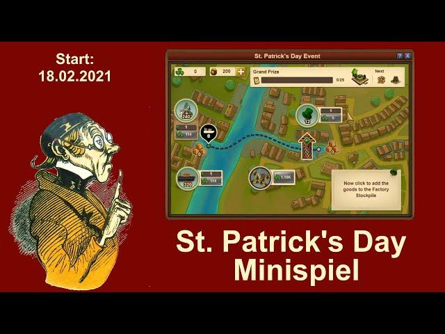 FoETipps: St. Patrick's Day Event Minispiel in Forge of Empires (deutsch)